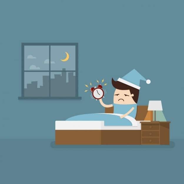 Igiene del sonno contro l'insonnia