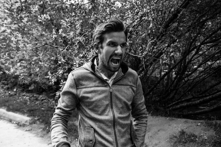 La rabbia è un'emozione.